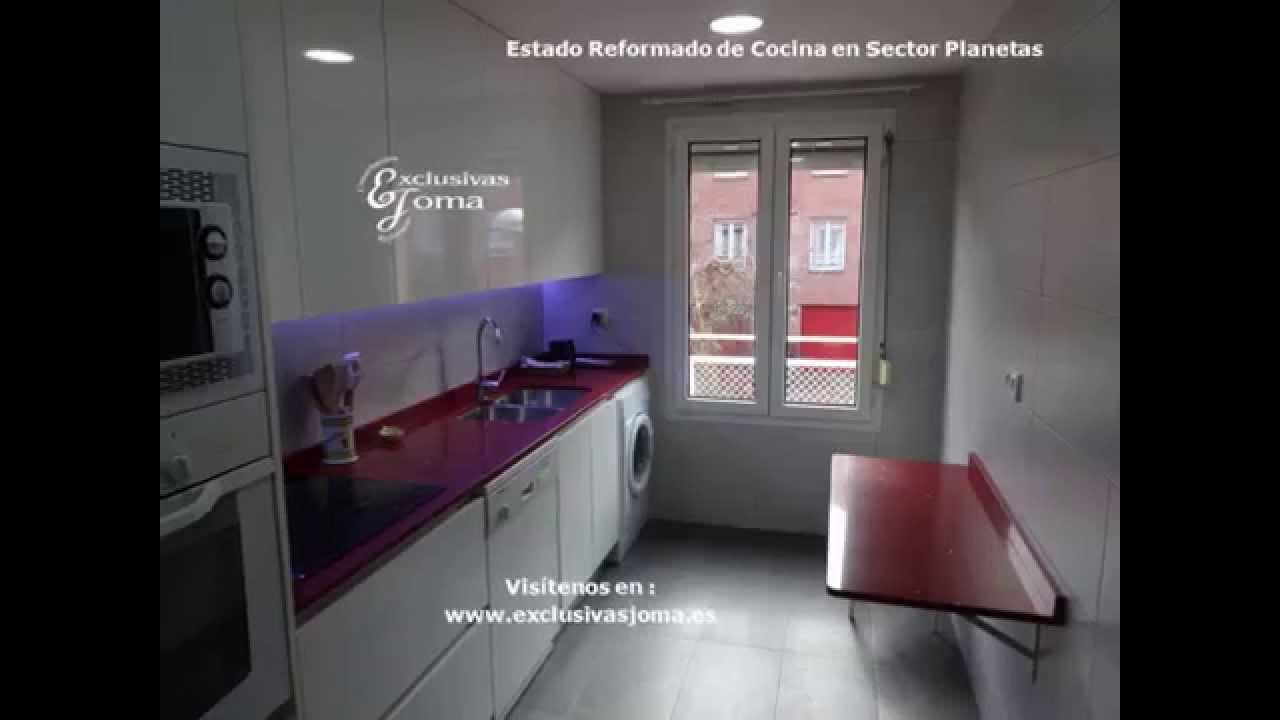 Reforma de cocina en sector planetas en tres cantos muebles antalia youtube - Antalia cocinas ...