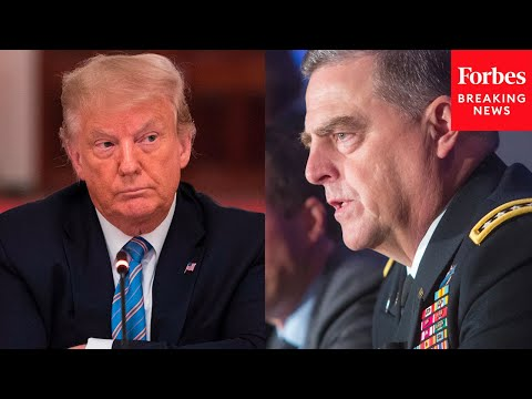 Trump accuses Gen. Milley of lying about him to appease leftists, calls for his resignation as chairman of Joint Chiefs