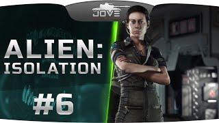 ДЖОВ ОТКЛАДЫВАЕТ КИРПИЧИ в Alien: Isolation #6. Они были андроиды, они заполонили...