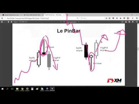 Pattern PinBar in trend