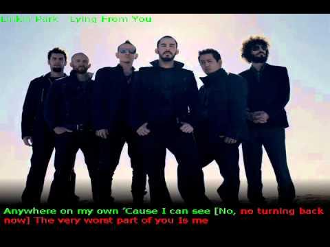 Linkin Park - Lying From You Karaoke By WolfNet