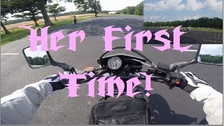 Learn to ride a Motorcycle Wife Edition 1