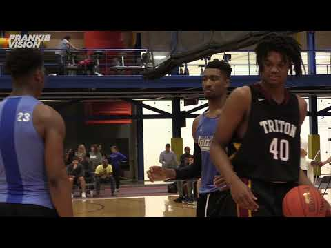 NBA Prospect Jay Scrubb  gets busy at John A Logan Midwest Jamboree Part 2