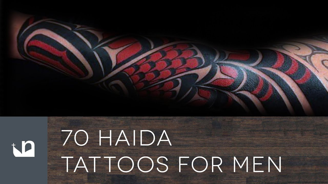 70 Haida Tattoos For Men