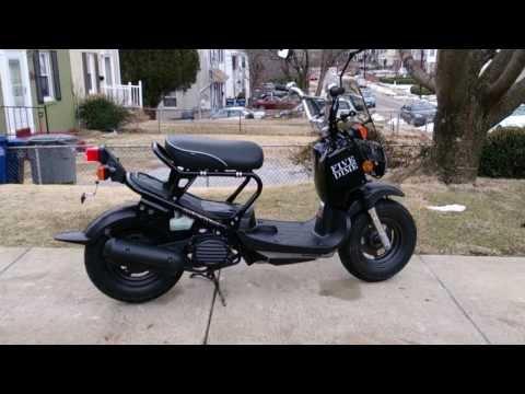 Honda Ruckus for sale video, lots of mods.