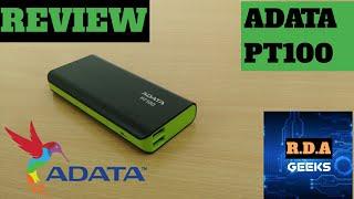 REVIEW ADATA PT100 10000mAH Power Bank