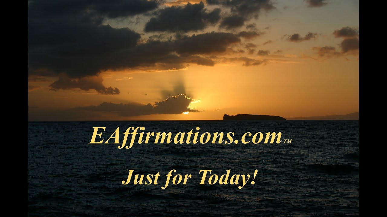 Just for Today! Meditation to Reclaim Your Power - YouTube