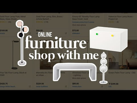 Online Furniture Shop With Me! (Part I) | Apartment Makeover Ep. 3