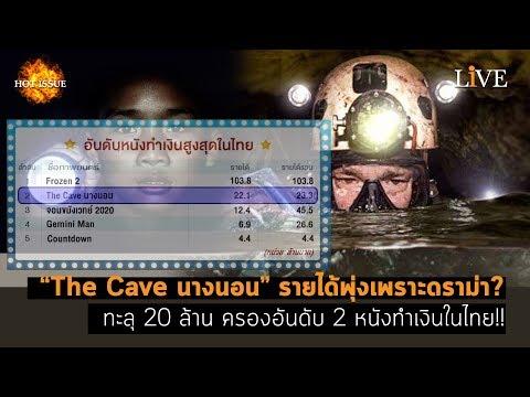 """[Hot Issue] """"The Cave นางนอน"""" รายได้พุ่งเพราะดราม่า? ทะลุ 20 ล้าน ครองอันดับ 2 หนังทำเงินในไทย!!"""