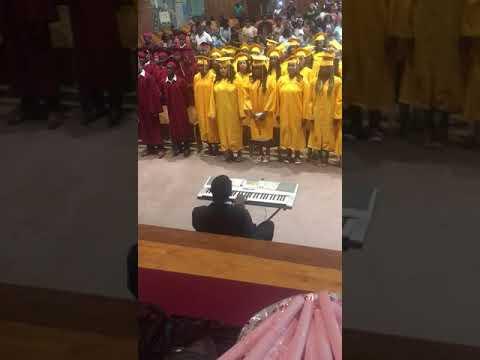 Playing for Mott Hall IV Graduation Ceremony