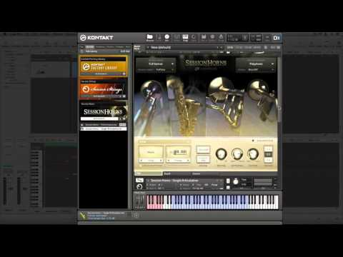 Session Horns -  Changing Articulations In Logic
