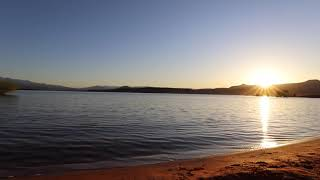 Morning Sunrise over Sand Hollow Reservoir