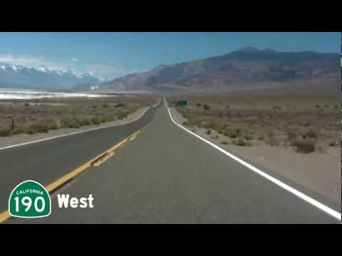 California State Route 190. Time Lapse