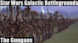 Star Wars Galactic Battlegrounds Gameplay - Gungans
