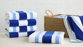 How To Fold Oversized Towels- Martha Stewart