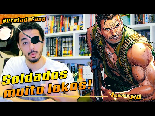 Comando Selvagem, os G.I. Joe da Marvel Comics