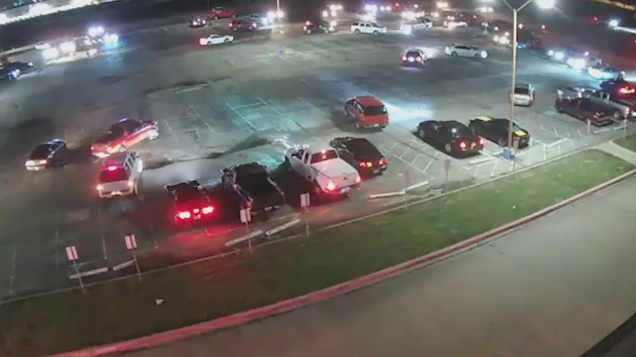 Police Break Up Loiterers Doing Donuts in Industrial Site