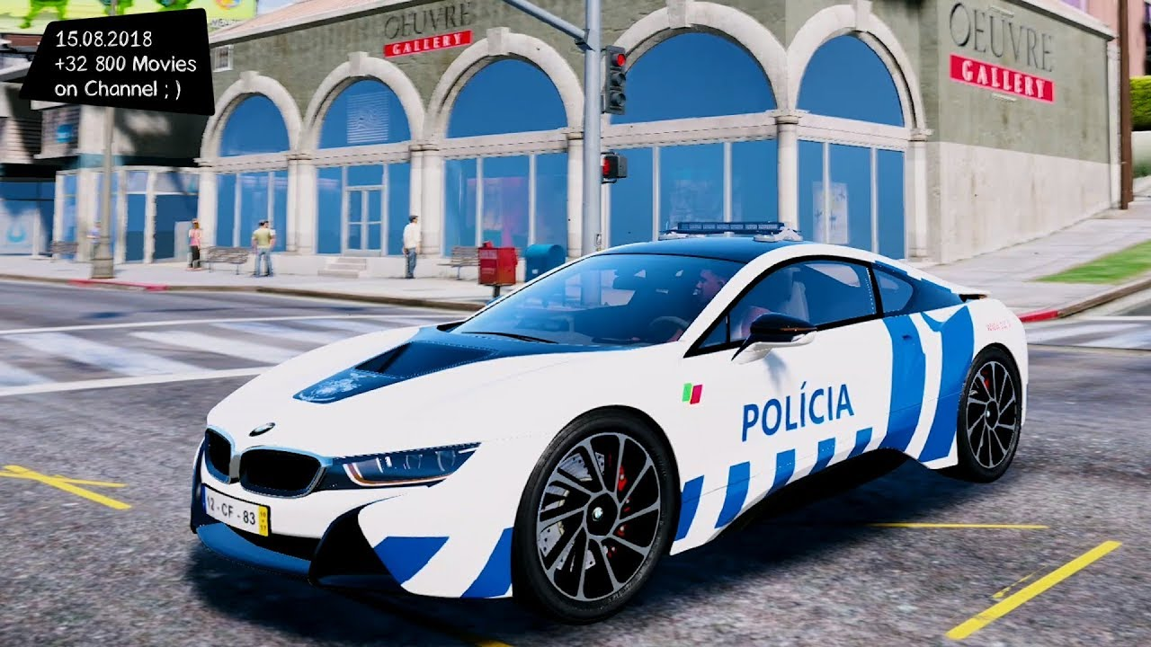 Portuguese Public Security Police Bmw I8 Grand Theft Auto V Gta V