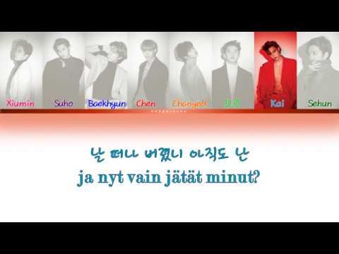 EXO (엑소) – Gravity (Color Coded Lyrics: Han/Fin Sub)