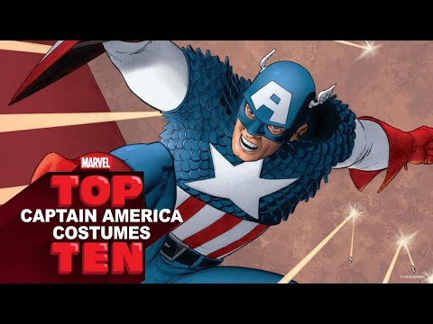 Top 10 Captain America Costumes | Marvel Top 10