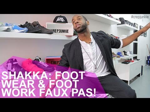 Sh Foot Wear And Foot Work Faux Pas
