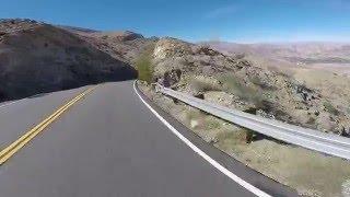 Downhill road bike Highway 74 Palm Desert, California