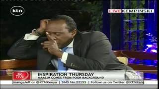Jeff Koinange Live: Inspirational Thursday with Omar Mohammed Maalim , 4th August 2016 Part 3