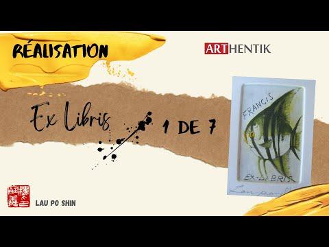 Ex Libris: Réalisation - Partie 1 Conception Aquatinte (1 de 7)