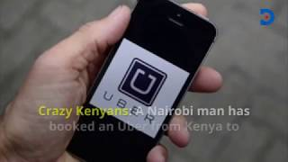 Crazy Kenyans: Man books Uber from Kenya to Russia to watch World Cup