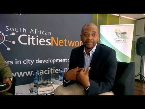 Interview with the Mayor of the City of Tshwane and the CEO of South African Cities Network