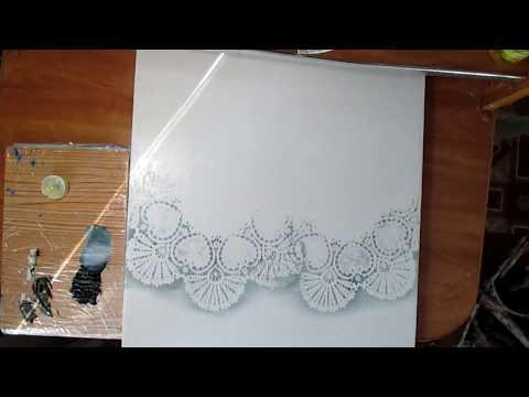 Как нарисовать кружево