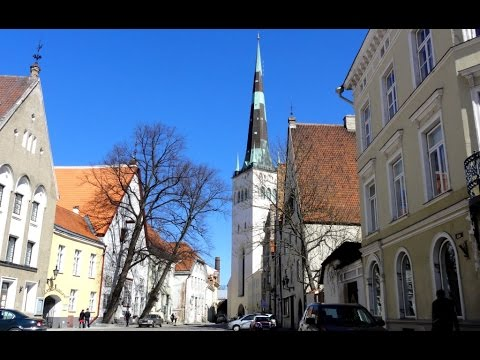 Tallinn/Церковь Oleviste Church/Part 1/Часть 1
