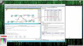 Fall 2014 - CSI257-8xx (Week #6 - 10062014) - Packet Tracer 8.2.3.5 Tutorial