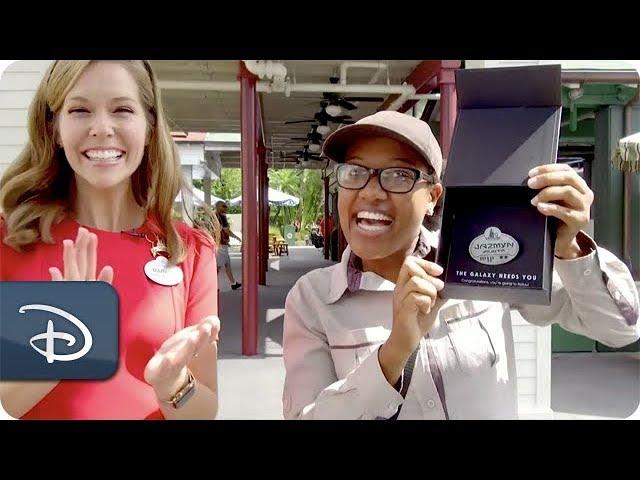 Walt Disney World Resort Cast Members Learn They're Going to Batuu