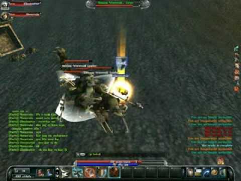 Webzen Archlord gameplay Berserker