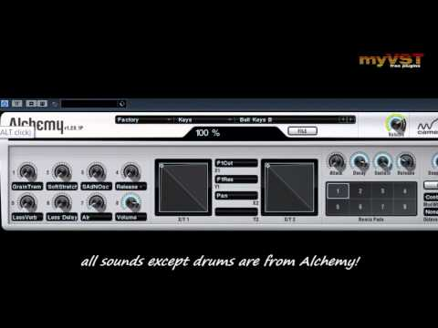 Alchemy - Free VST - myVST Demo
