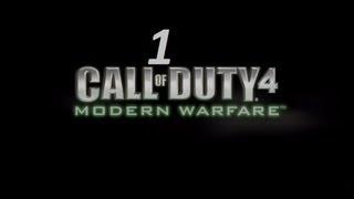 Прохождение Call of Duty 4: Modern Warfare — часть 1