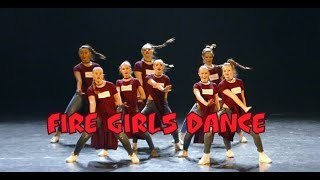 Fire girls данс-микс клубные танцы джаз-фанк микс современных танцев СПб