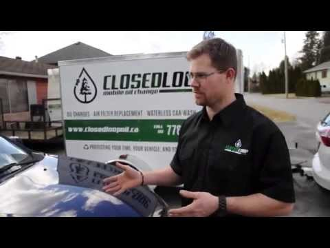 Closed Loop - Mobile Oil Change Demo