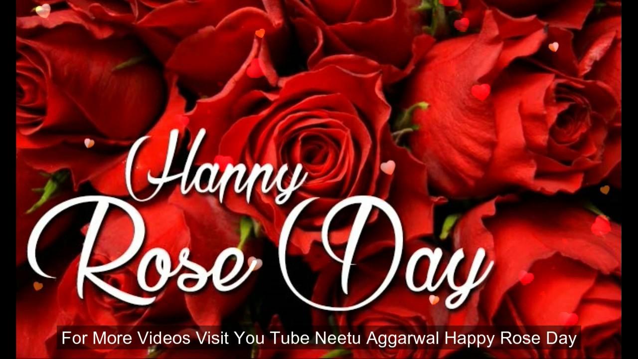 Happy Rose Day Wishesgreetingsquotessmssayinge Cardwallpapers