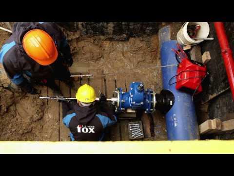 FOX FITTINGS Hot Tapping - Saddle 400/225, Nawiercanie pod ciśnieniem- Siodło 400/225