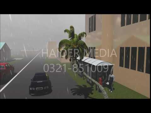 Rain Effect Test Lumion 3D CGI SOCIETY