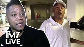 Cuba Gooding Jr.'s Plea To O.J. Simpson! | TMZ Live