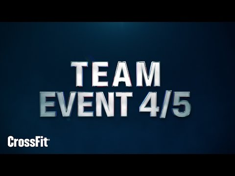 2015 Regionals: Team Event 4 and 5 Announcement