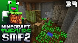 The Cube SMP 2 - Episode 39 - Back To Work (Underground Automatic Carrot Farm)