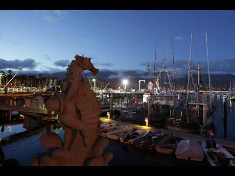 Motion Control Time Lapse Syrp Genie 2 Slider | Santa Barbara Harbor