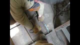видео сварка арматуры для фундамента