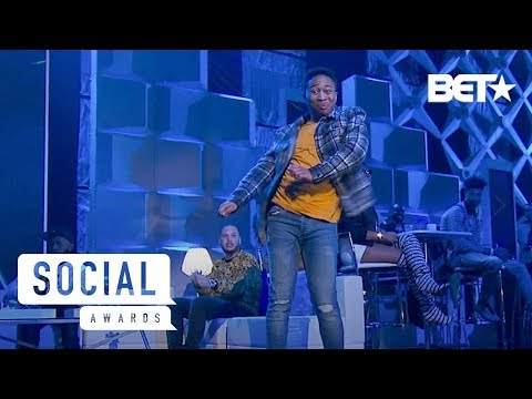 Shiggy, Kid The Wiz, DanRue & More Perform the Best Dances of 2018 | Social Awards 2019