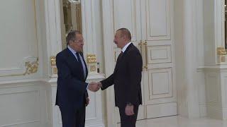 """Лавров во время визита в Азербайджан: """"Будем отстаивать наши общие позиции"""""""