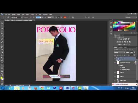 การทำ Portfolio โดยใช้ Photoshop